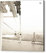 Flight Over The Thames Acrylic Print