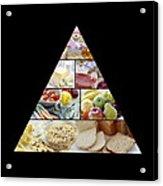 Food Pyramid Acrylic Print