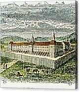 Fort Marietta, Ohio, C1790 Acrylic Print