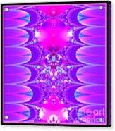 Fractal 16 Purple Passion Acrylic Print