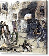 France: Paris Riot, 1851 Acrylic Print