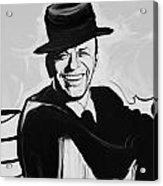 Frank In Black And White Acrylic Print