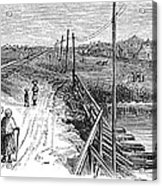 Freedmens Village, 1866 Acrylic Print by Granger
