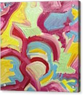 Freedom Acrylic Print by Forrest Kelley