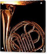 French Horn With Sparks Acrylic Print