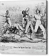 Fugitive Slave Law Acrylic Print