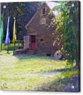 Ty Hodanish Gallery At Prallsville Mill Acrylic Print