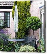 Garden Furniture Acrylic Print