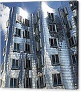 Gehry's Der Neue Zollhof Buildings Acrylic Print