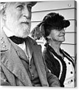 General Lee And Mary Custis Lee Acrylic Print