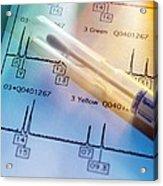 Genetic Testing Acrylic Print