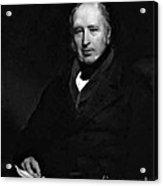 George Cayley, English Aeronautical Acrylic Print by Science Source