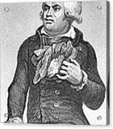 Georges Danton (1759-1794) Acrylic Print