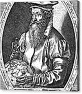 Gerardus Mercator, Flemish Cartographer Acrylic Print