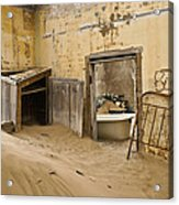 Ghost Town Boarding House Acrylic Print