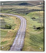 Ghost Town Galilee Saskatchewan Acrylic Print