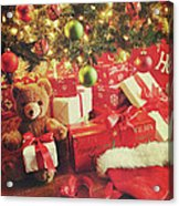 Gifts Under The Tree For Christmas Acrylic Print