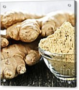 Ginger Root Acrylic Print