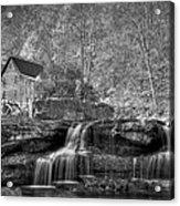 Glade Creek Grist Mill At Babcock Acrylic Print