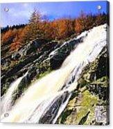 Glenmacnass Waterfall, Co Wicklow Acrylic Print