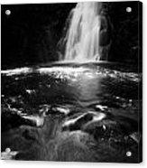 Gleno Or Glenoe Waterfall County Antrim Northern Ireland Uk Acrylic Print