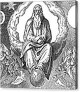 God Resting On 7th Day Acrylic Print