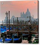 Gondole. Venezia. Acrylic Print