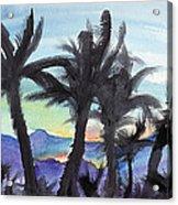 Good Morning From Hawaii Acrylic Print