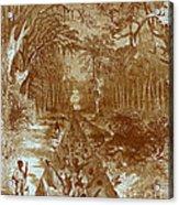Grants Canal, 1862 Acrylic Print