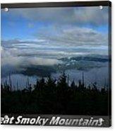 Great Smoky Mountains National Park 16 Acrylic Print