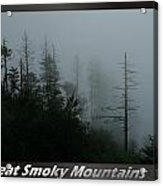 Great Smoky Mountains National Park 17 Acrylic Print