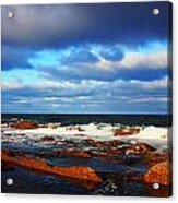 Green Point Seascape Acrylic Print