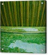 Green Pottery Acrylic Print