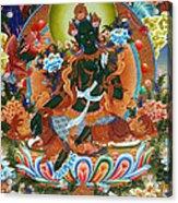 Green Tara 2 Acrylic Print