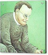 Gregor Mendel, Father Of Genetics Acrylic Print