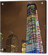 Ground Zero Freedom Tower Acrylic Print