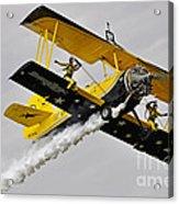 Grumman Ag 164 Wingwalker Acrylic Print by Conny Sjostrom