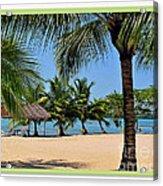 Guatamala Beach Acrylic Print