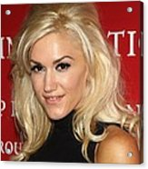 Gwen Stefani At Arrivals For Fashion Acrylic Print