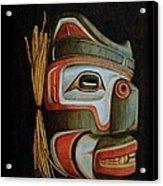 Haida Mask Acrylic Print