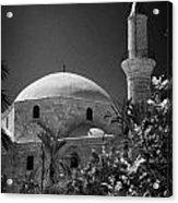 Hala Sultan Tekke Mosque Larnaca Republic Of Cyprus  Acrylic Print