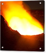 Halemaumau Crater Of Kilauea Volcano Acrylic Print