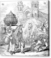 Havana, Cuba, 1853 Acrylic Print
