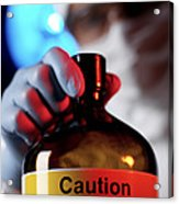 Hazardous Chemical Acrylic Print