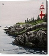 Head Harbour Lighthouse Acrylic Print by Jack Skinner