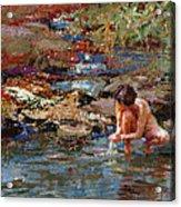 Healing Water Acrylic Print