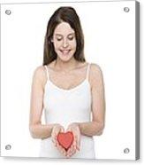 Healthy Heart Acrylic Print