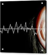 Hearing Acrylic Print