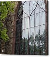 Heart Window Acrylic Print