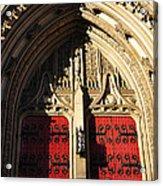 Heinz Chapel Doors Acrylic Print by Thomas R Fletcher